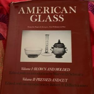 AmericAn glass volume 1and 2 book